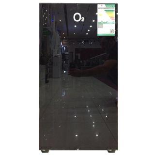ثلاجة  اوتو 3.22 قدم لون اسود زجاجي=OS91BG