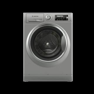 غسالة ملابس اريستون 10 ك فتحة أمامية لون فضي 1200 دورة شاشة ليد انفيرتر =NLLCD1045SCA