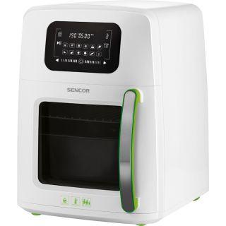 قلاية هوائية بدون زيت سنكور متعددة الوظائف 11لتر 1800 وات 12 برنامج لون أبيض